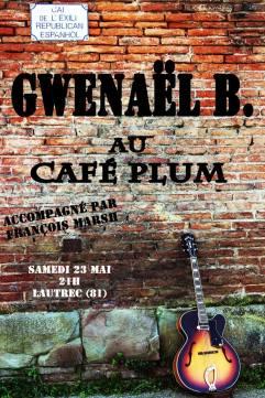 Concert au Café Plum